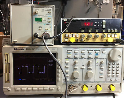 Tektronix Tm502a With Am503b Current Probe Amplifier And Toolbox