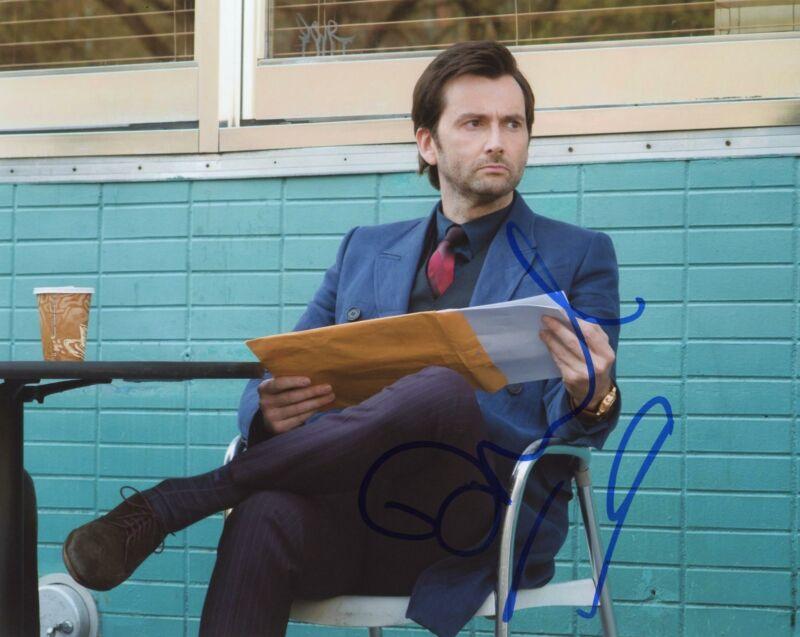 "David Tennant ""Jessica Jones"" AUTOGRAPH Signed 8x10 Photo"