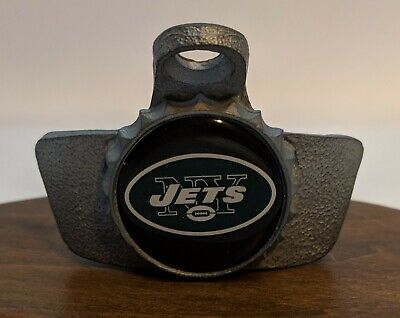 New York Jets NFL Football Wall Mount Pub Bar Bottle - Jets Wall Mounted Bottle Opener