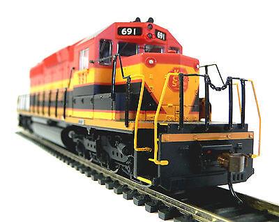 Ho Scale Model Railroad Trains Engine Kansas City Southern Sd 40 Dc Locomotive