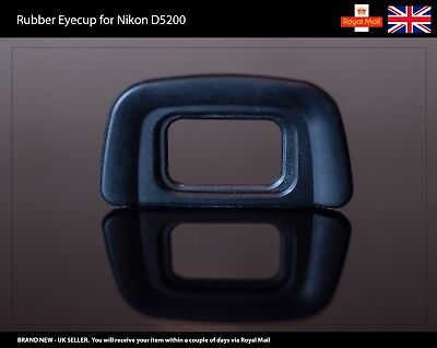 Rubber Eyecup / Eye Cup / Eyepiece / Viewfinder for NIKON D5200 Camera
