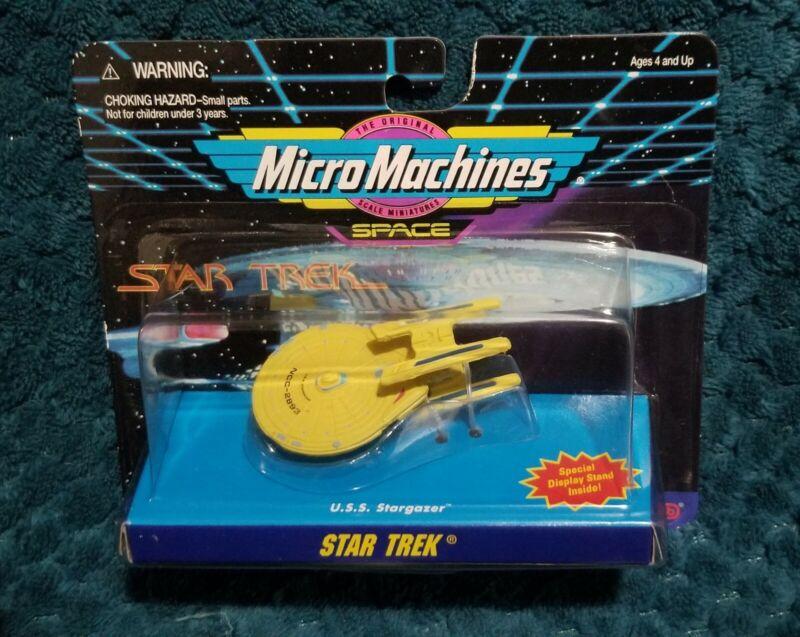 Star Trek Micro Machines U.S.S. Stargazer MOC New Old Stock OOP