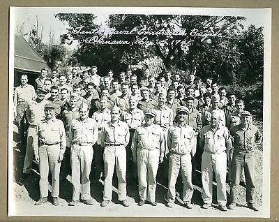 PHOTO 10TH NAVAL CONSTRUCTION BRIGADE OKINAWA JAPAN 12 1945 WORLD WAR II WW NAVY