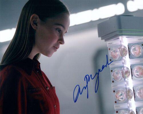 Clara Rugaard Signed Autographed 8x10 Photo I Am Mother Actress COA