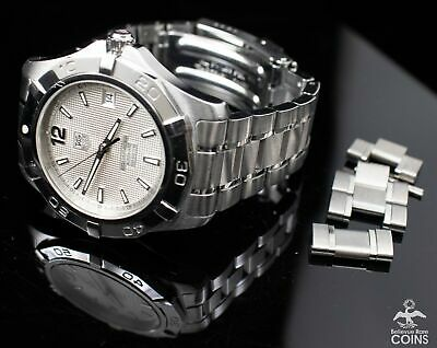 Tag Heuer Aquaracer Calibre 5 Automatic 300M St.Steel Men's Watch w/Extra Link