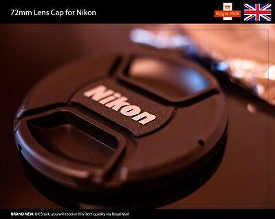 72mm Front Lens Cap for NIKON