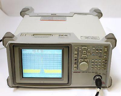Advantest U4941 Spectrum Rf Field Analyzer 9 Khz To 2.2 Ghz