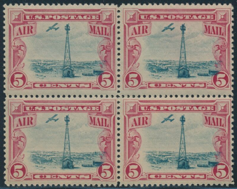 #c11 Var. Vignette Shift Major Error Block Of 4 Into Right Frame Br1684