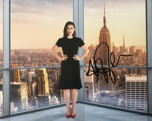 Hayley Atwell signed 10x8 Image P photo UACC Registered dealer AFTAL RACC