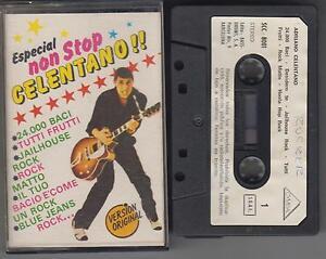 ADRIANO-CELENTANO-cassette-Especial-Non-Stop-Celentano-1981-Spain