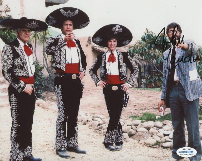 JOHN LANDIS SIGNED THREE AMIGOS! 8X10 PHOTO ACOA