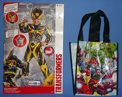 Transformers,Bumblebee;child-2T;Muscle torso-arms;SUPER HERO;trick or treat - Transformers Bumble Bee Costume