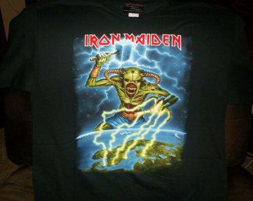 Iron Maiden Official 2018 Nordic Event Shirt XL Legacy of the Beast