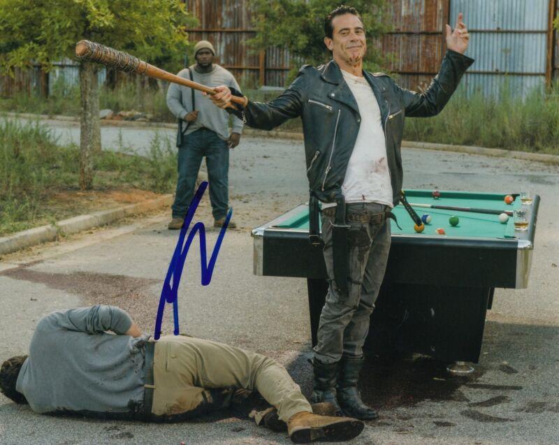 AUSTIN NICHOLS signed *THE WALKING DEAD* Spencer Monroe 8X10 photo W/COA TWD#1