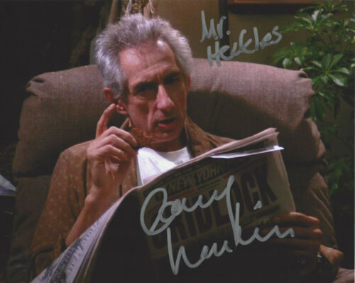 LARRY HANKIN SIGNED 'FRIENDS' MR. HECKLES 8x10 SHOW PHOTO w/COA ACTOR PROOF