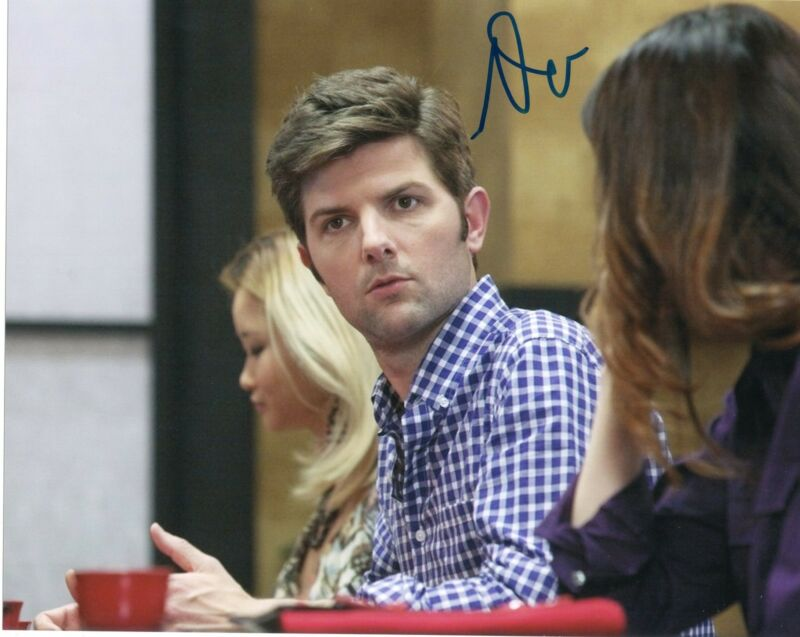 Adam Scott Parks and Recreation Step Brothers Signed 8x10 Photo w/COA #7