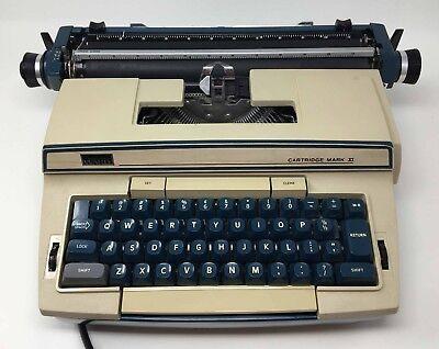 Montgomery Ward Electric Typewriter Incase Scm 8217 Cartridge Mark Xi W6lc