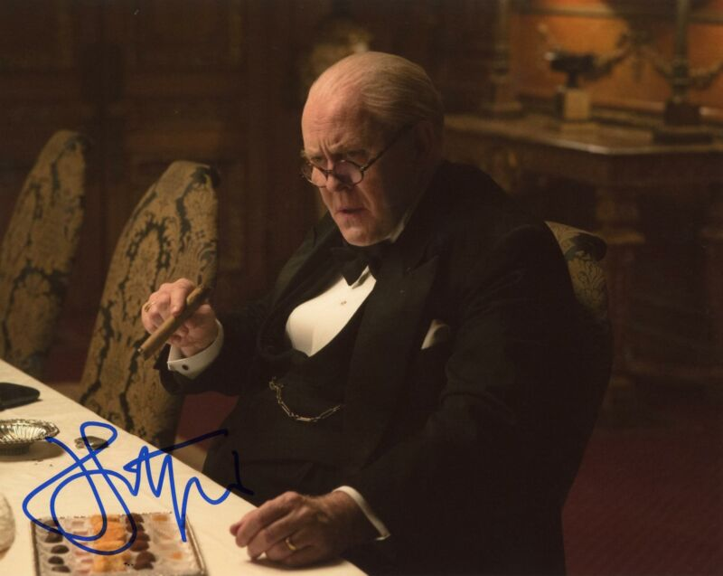 "John Lithgow ""The Crown"" AUTOGRAPH Signed 8x10 Photo ACOA"