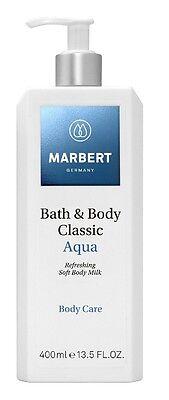 MARBERT Body Care Bath & Body Classic Aqua Refreshing Soft Body Milk 400 ml OVP