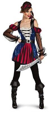 Bucaneer Beauty Adult Women's Plus Size XL 18-20 Halloween Pirate Costume - Women's Plus Size Pirate Costume
