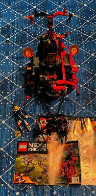Lego 70316 Nexo Knights Jestro's Evil Mobile - Used,  w/ Instructions
