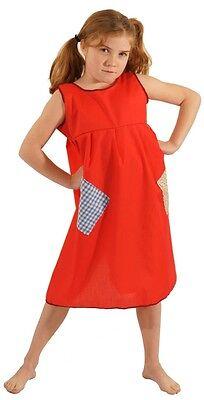 Annie / Arbeitshaus / Waise / Dienstmädchen Rot Kittel (Annie Roten Kleid)