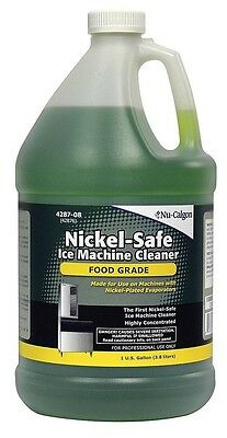 Nu-calgon 4287-08 Nickel Safe Ice Machine Cleaner 1 Gallon Bottle