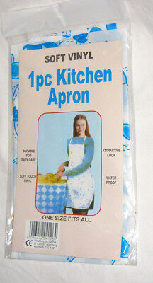 20 x Einwegschürze dünne Küchenschürze Kochschürze Schürze geblümt NEU ovp