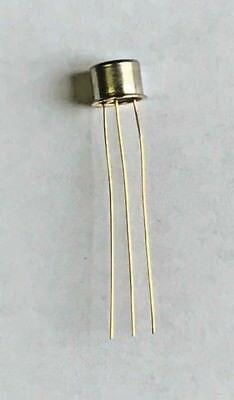 Ti 2n1379 Germanium Pnp Bipolar Transistor Af Amplifier 25v To-5 Gold Leads Nos
