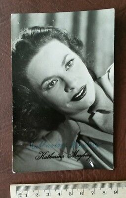 Katharina Mayberg Defa Kino Autogramm Autograph Autogrammkarte Foto Unterschrift