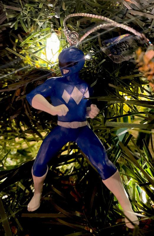 2021 NEW Blue Ranger - Mighty Morphin Power Ranger Christmas Tree Ornament
