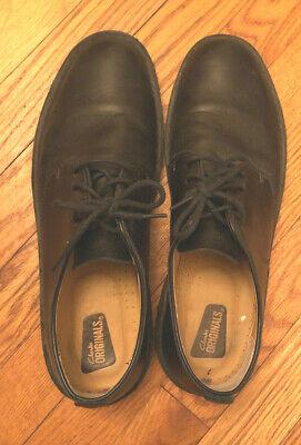 CLARKS Originals Men's Black Dress Shoes - Size 10.5