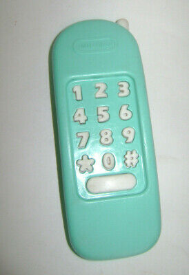 Vintage Little Tikes Green Phone Replacement Kitchen Workbench House Phone RARE