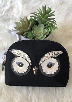 kate spade clutch Cosmetic purse Small Bag Owl Design