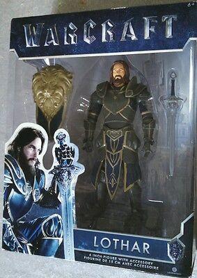 Warcraft Lothar Knight Hero 2016 Legendary Jakks Pacific 6  Mip War Craft Movie