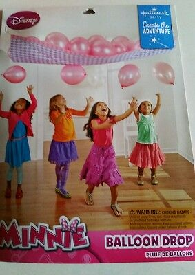 New Minnie Mouse Balloon Drop Birthday Party Decorations Games Pink - Minnie Mouse Birthday Games