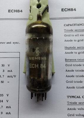ECH84 Elektronen-Röhre, gebraucht, Hersteller Siemens