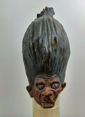 Vintage 1992 Rubies Costume Mask Troll Halloween Scary Unique  - Scary Troll Halloween Costume