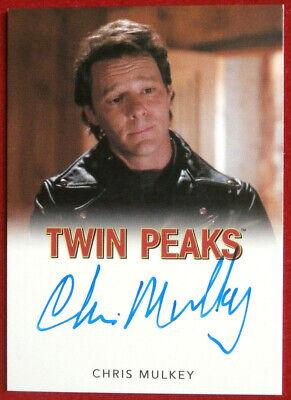David Lynch's TWIN PEAKS  - CHRIS MULKEY - Autograph Card, Rittenhouse 2018