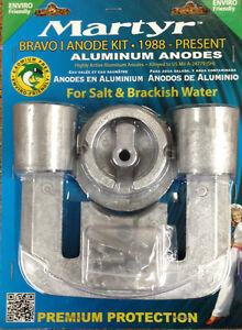 1988-up-MerCruiser-BRAVO-1-Aluminum-Anode-zinc-Salt-Brackish-KIT-CMBRAVO1KITA