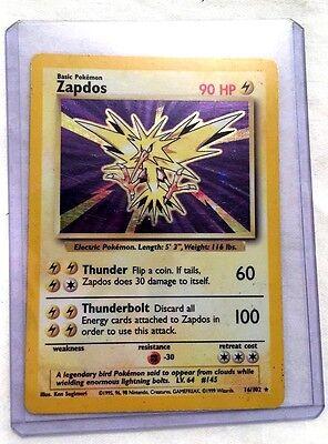 Pokemon Trading Card Game Zapdos 16/102 Electric Legendary Bird