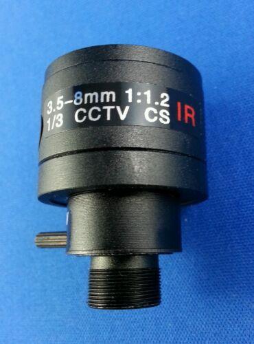 CCTV board Lens manual-Iris Vari-Focal  3.5 - 8 MM 8mm M12×0.5 IR