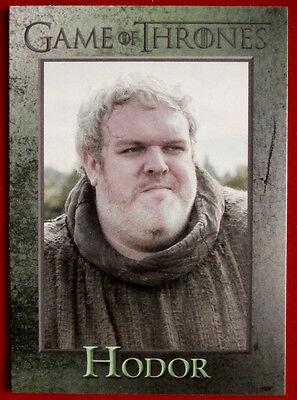 GAME OF THRONES - HODOR - Season 3, Card #59 - Rittenhouse - 2014