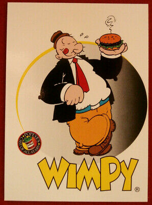 POPEYE - Individual Card #04 - Wimpy - Card Creations - 1994