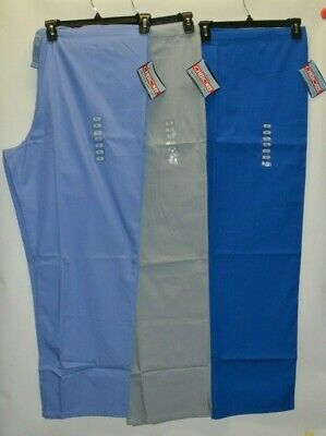 Cherokee Workwear Scrubs Pants Unisex Men's Women's Drawstring Cargo Pants 4100 4100 Unisex Drawstring Pant