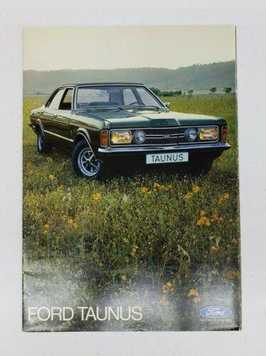 1972 Ford Taunus Sales Catalog (German)