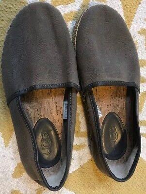 UGG Australia Youth Girls Boys Womens Mens Slip On Canvas Sneaker Sz 6M/ 38.5  for sale  Central