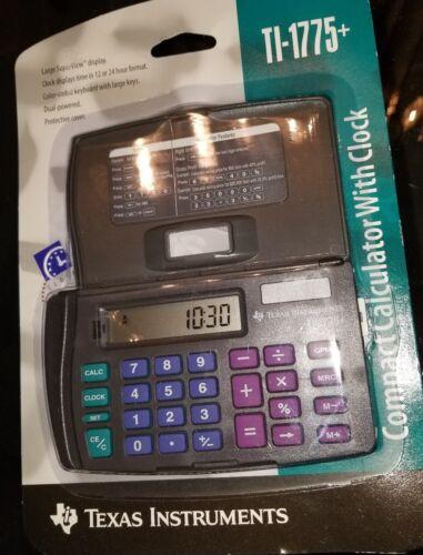New old stock Texas Instruments TI-1775+ Solar Flip Keypad Calculator 1995 world