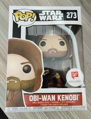 Funko Pop! Star Wars - Obi-Wan Kenobi [Hooded] #273 Walgreens Exclusive IN HAND