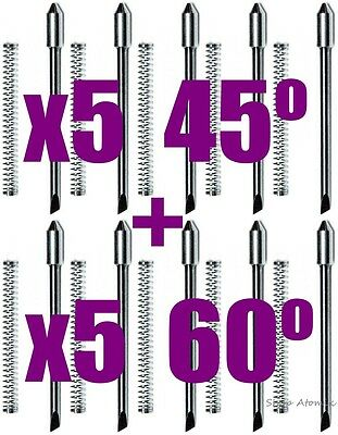 X10 60 45 5 Each Degree Blade Knife For Graphtec Cb09 Plotter Cutter Usa